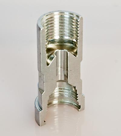 decolletage pièces aluminium