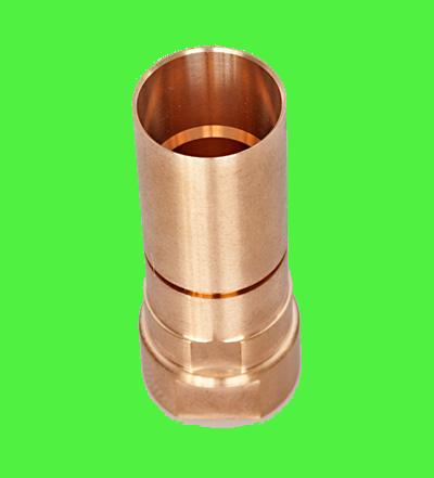 Décolletage de pièces en cuivre et alliages