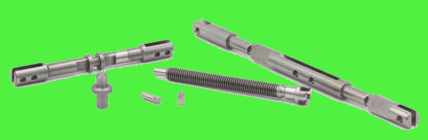 Fabricant de pièces en acier, goupille acier, vis sans fin, axe en acier fraisé